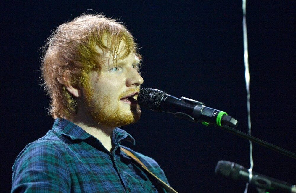 Ed Sheerani kontsert Saku Suurhallis
