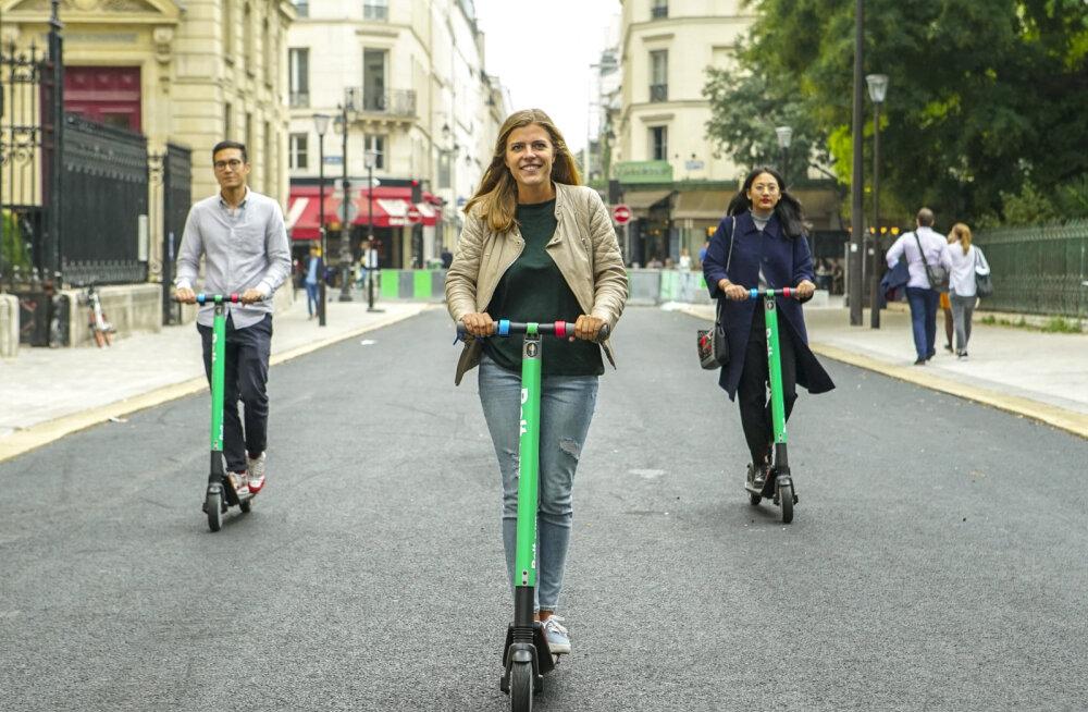 FOTOD | Taxify toob linnadesse elektrilised tõukerattad