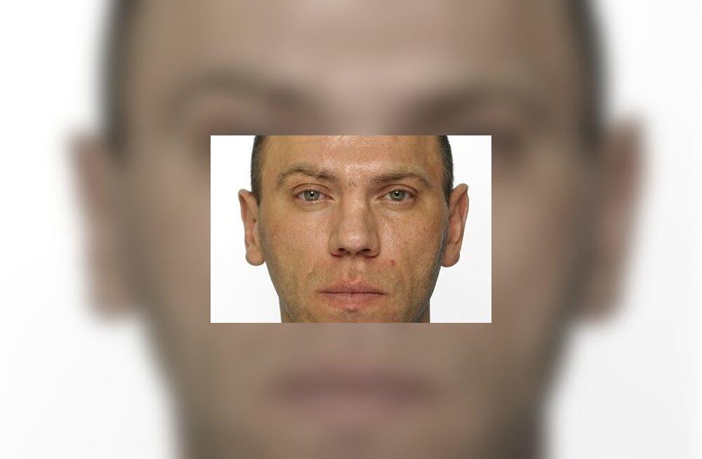 Йыхвиское отделение полиции разыскивает подозреваемого в разбое Александра