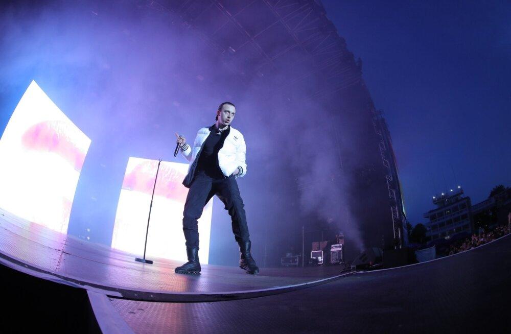ФОТО: Настоящая рок-звезда! Смотрите, как Томми Кэш зажигал на Õllesummer