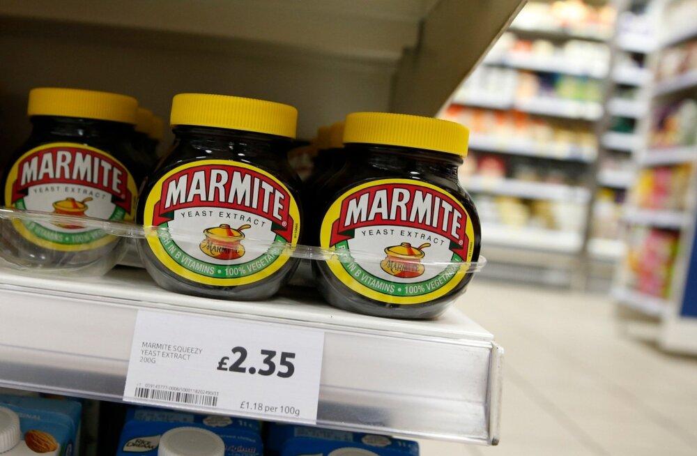 Kodanikud, kiirustage! Marmite'i määret, millest on brittide jaoks saanud peaaegu rahvustoit, võis Tesco kauplustest veel leida, kuid internetipoest oli see juba kõrvaldatud.