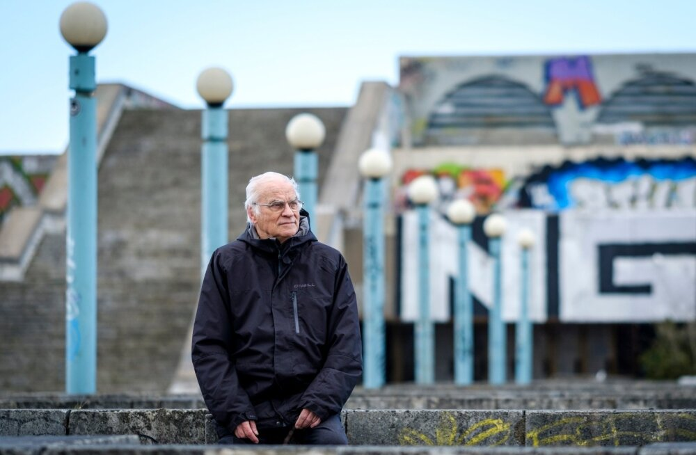 Kui linnahall poleks muinsuskaitse all, oleks see aastatuhande vahetusel maha lammutatud, meenutab hoone autor Raine Karp.