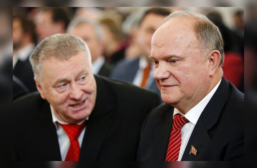 Venemaa presidendikandidaadid ei kavatse kampaania ajal Putinit rünnata