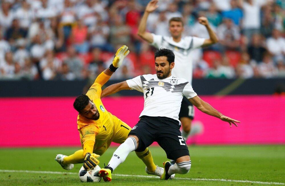 Saksamaa - Saudi Araabia, järjekordne värav õhus