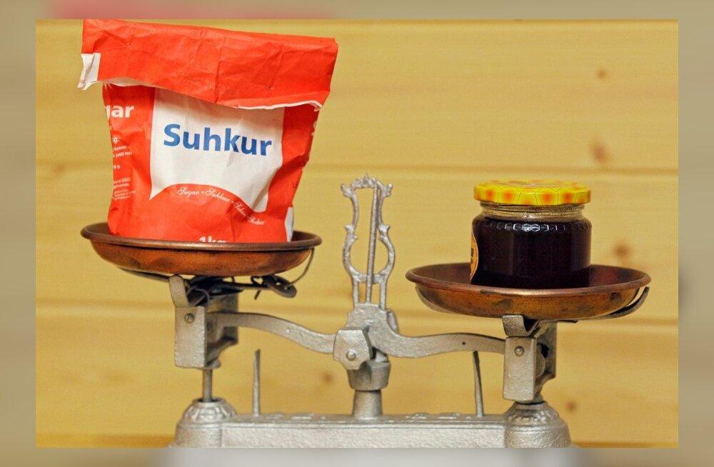 Testi, kas tead mis toitudes-jookides on rohkem suhkrut