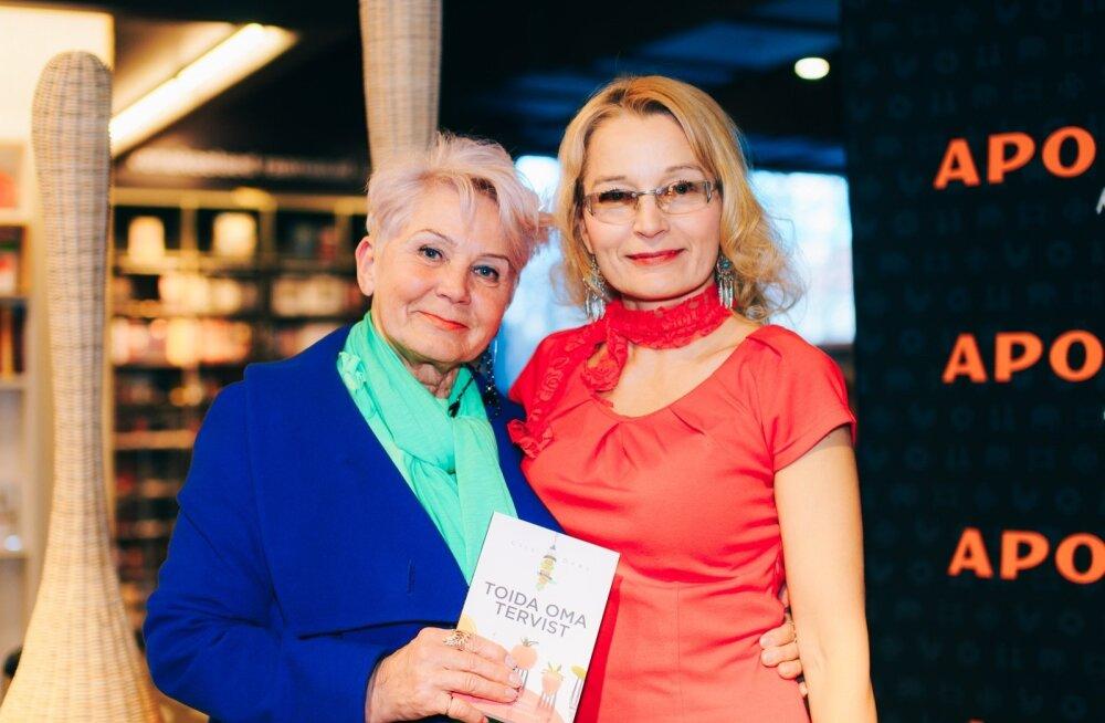 """Terviseterapeut ja toitumisnõustaja Liis Orav esitles raamatut """"Toida oma tervist"""""""