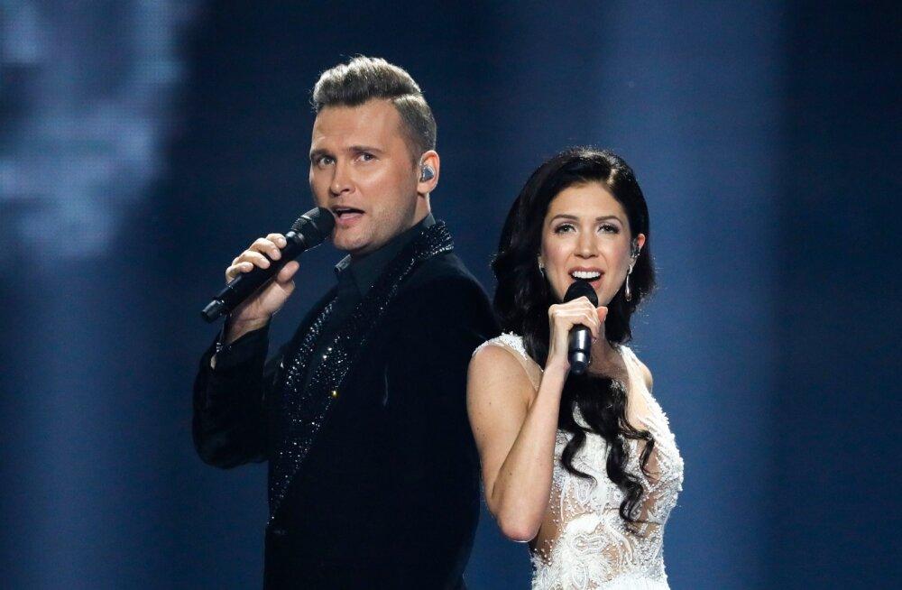 Eurovision 2017 teise poolfinaali zürii läbimäng