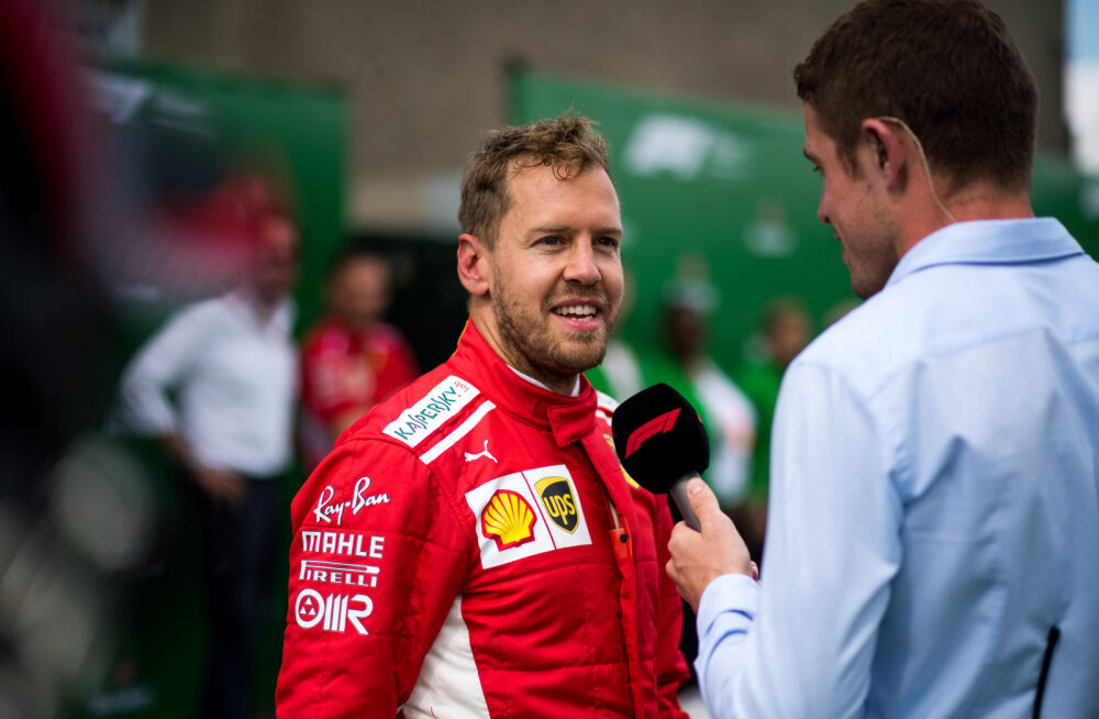 Vettel: Kanada GP oli igav? Oodake, kuni jalgpalli MM algab!