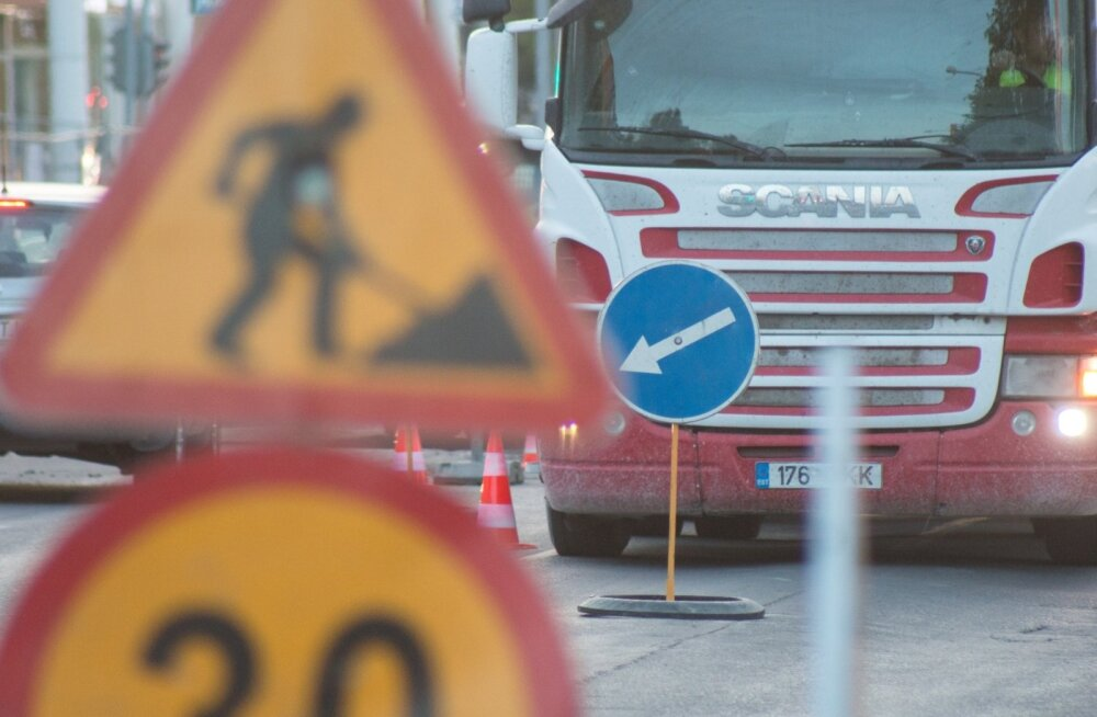 Täna on Harjumaal neljas paigas liikluspiirangud