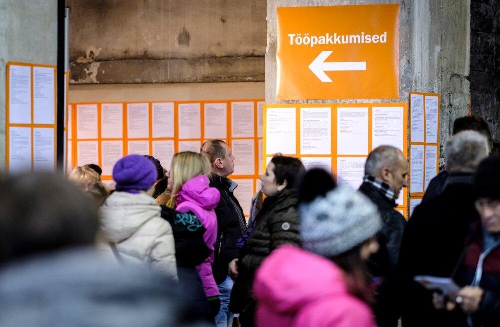 Uus rekord: eestimaalased otsivad tööd aktiivsemalt kui kunagi varem