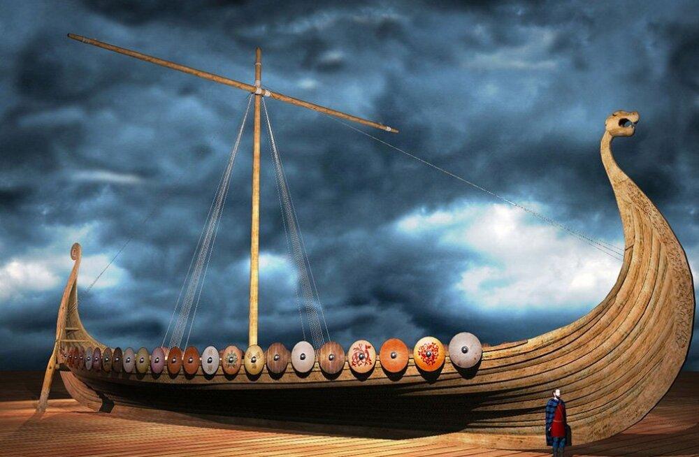 В Норвегии строят самый большой корабль викингов