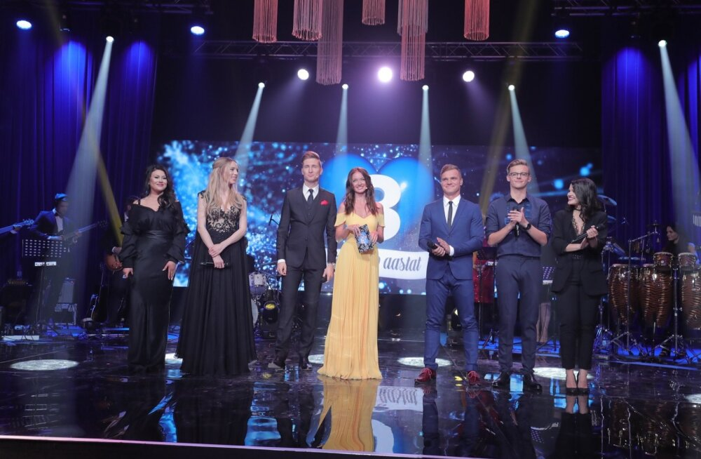 БОЛЬШАЯ ГАЛЕРЕЯ: Реки шампанского и парад звезд. Канал TV3 отметил 20-летие