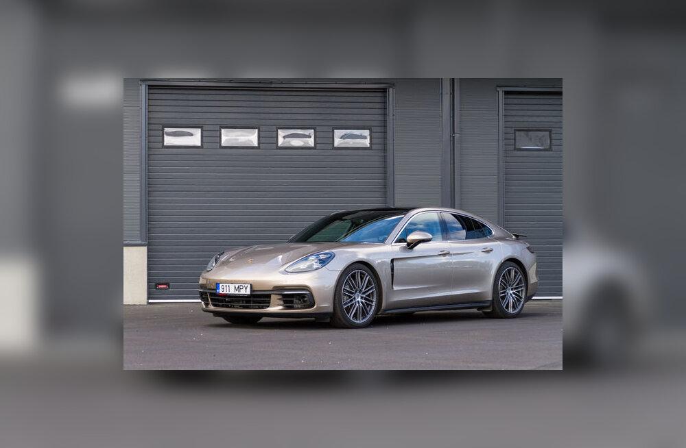 Motors24 proovisõit: Porsche Panamera - uskumatu, mida võib teha 20 mm kärbe katusejoonest