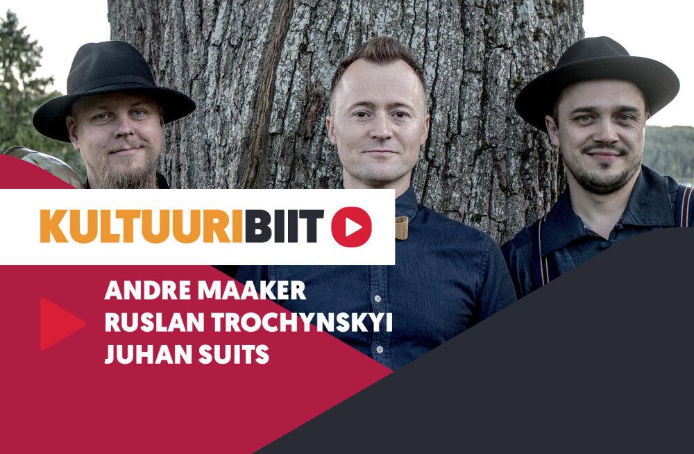 KULTUURIBIIT | Trio Romansid muusikute Andre Maakeri, Ruslan Trochynskyi ja Juhan Suitsu playlist