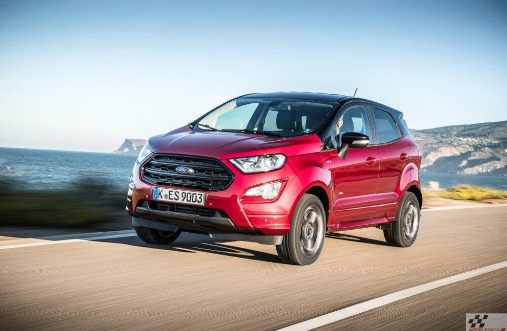 Ford Ecosport linnamaastur: Eco? Sport? Mõlemad? Või ei kumbki?