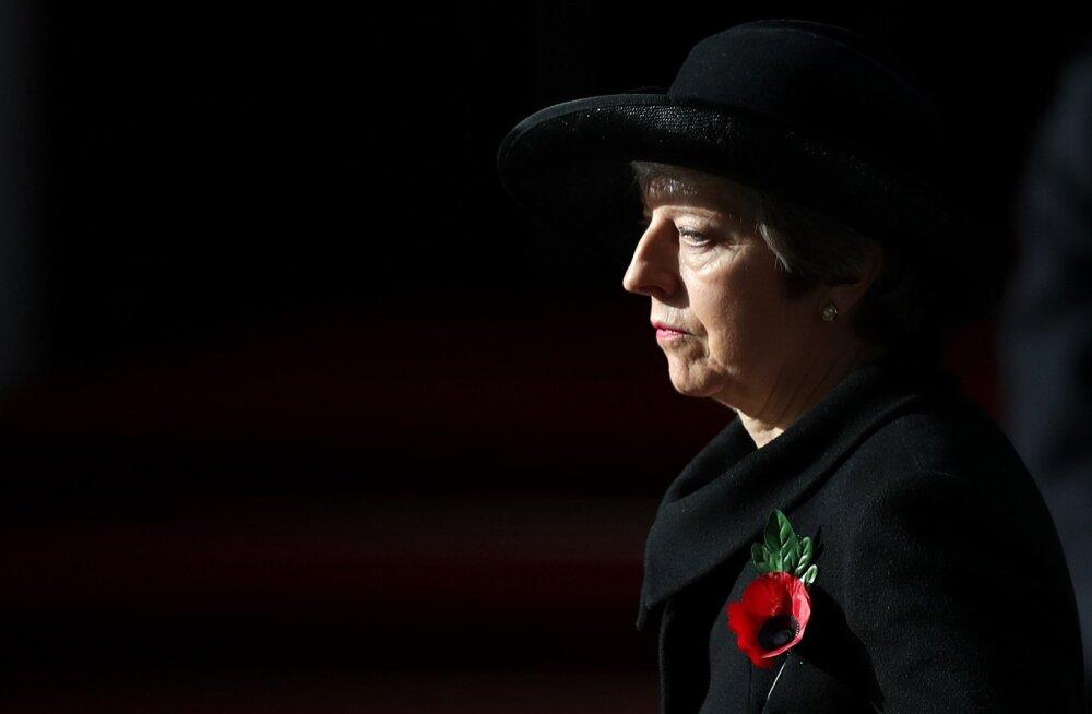 """Theresa May ütles üleeile, et rahva tahte arvel kompromisse ei tehta. """"Lepet ei tule iga hinna eest,"""" lisas May."""