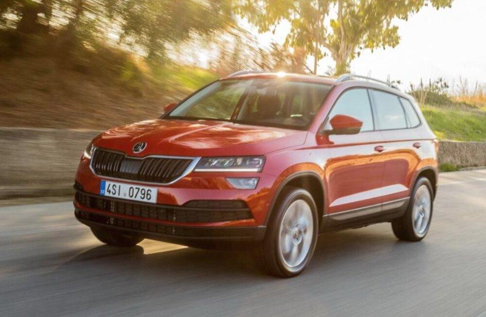 WhatCar? testib: Škoda Karoq passib pereautoks Yetist pareminigi