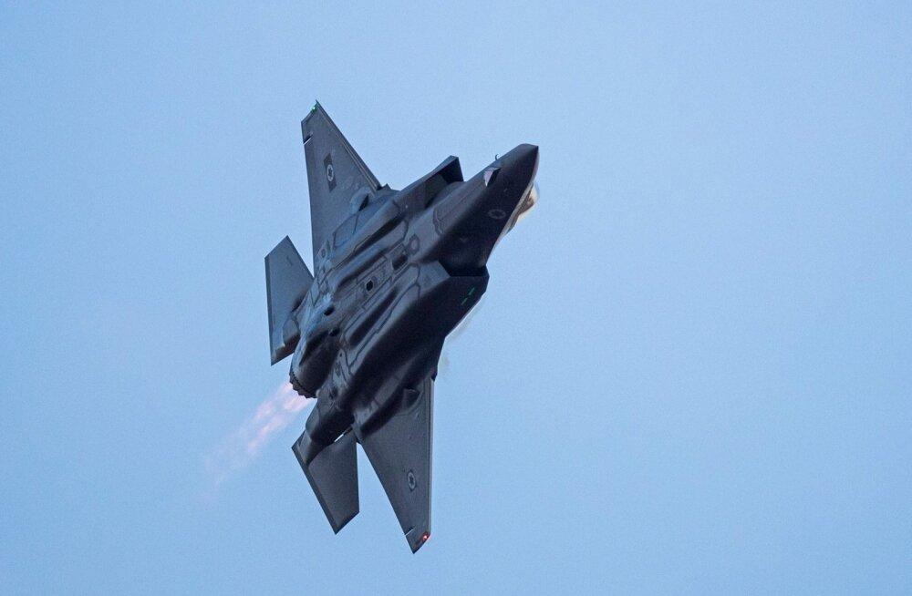 Iisrael võttis USA järel esimesena teenistusse varghävitajad F-35