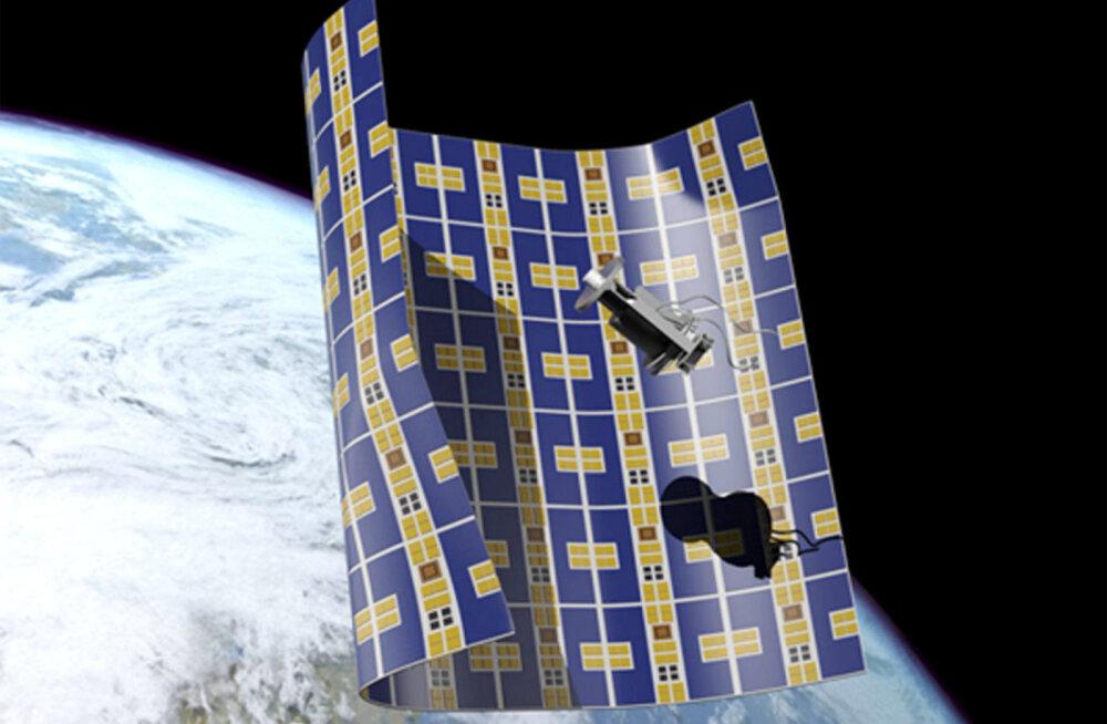 Üliõhuke kosmoseaparaat võib peagi hakata orbitaalprügi hävitama