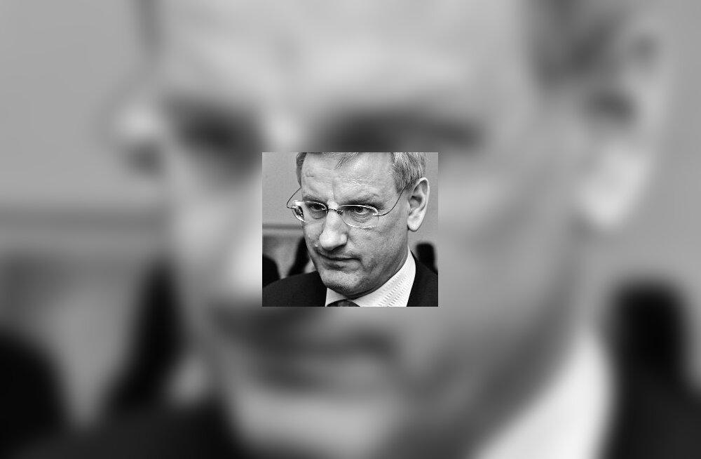 CARL BILDT: Taaskäivitusnupp Euroopa tagahoovis