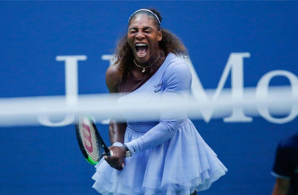 Serena Williamsi võidujoovastus