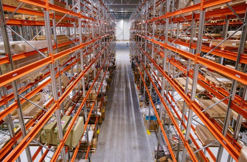Hansapost открыл крупнейший в Эстонии склад для онлайн-торговли