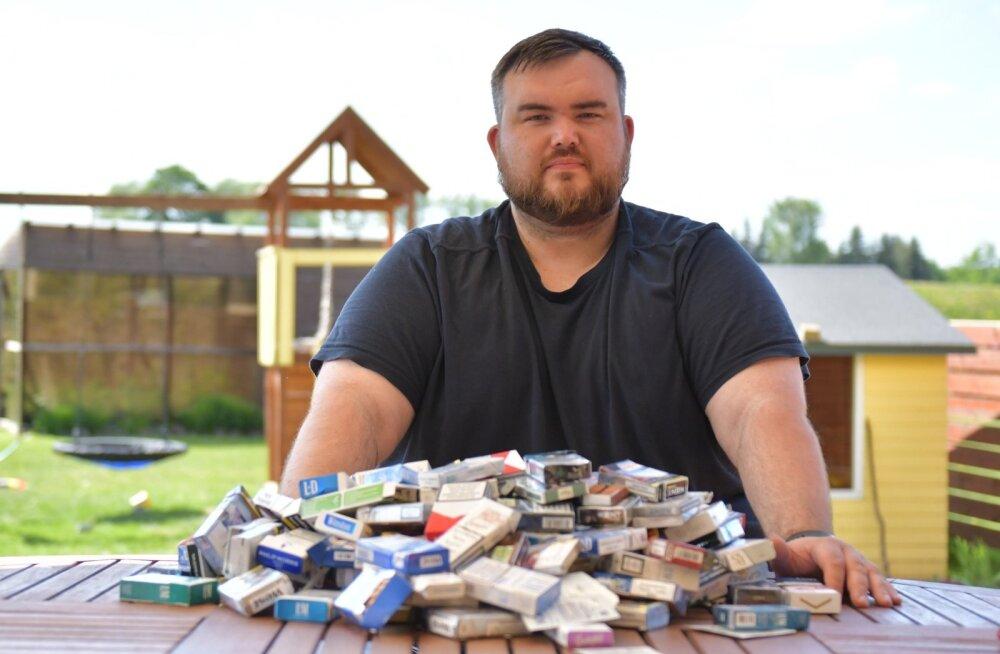Endine ahelsuitsetaja Henry Jakobson toonitab, et on kogu elu ülekaaluline olnud ega söönud ennast paksuks, kui suitsetamise maha jättis.