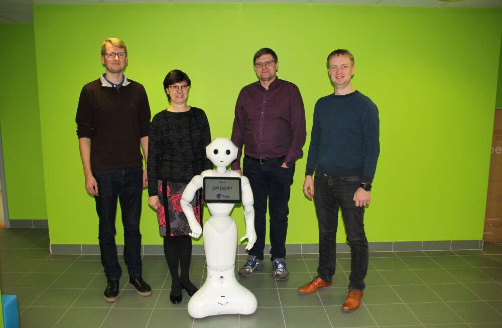Tartu ülikool võttis vastu esimese robottudengi
