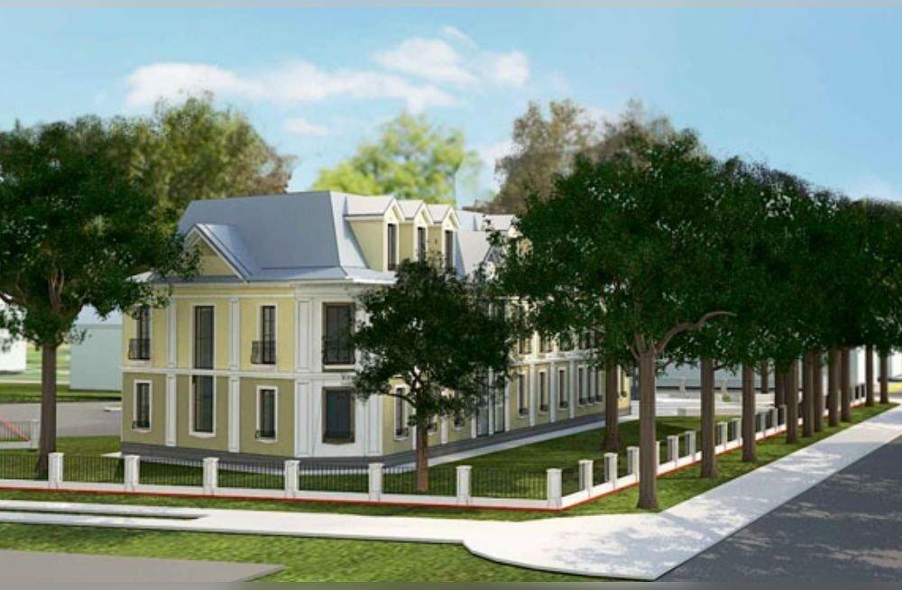 Вопрос о новой гостинице в нарвском Старом городе отложен на неопределенное время