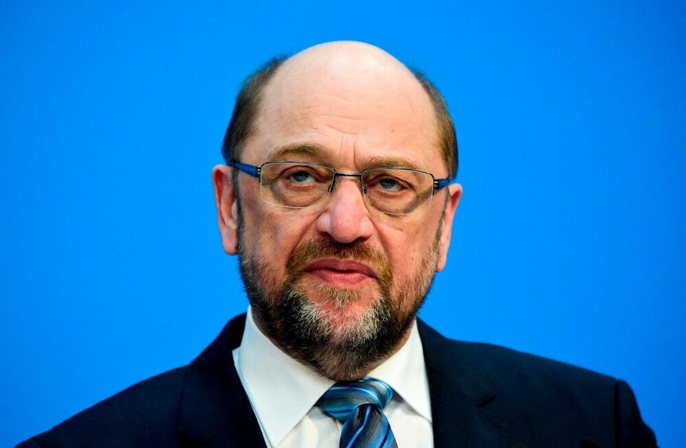 Saksa sotside juht Schulz loobub siiski kuuldavasti välisministri ametist