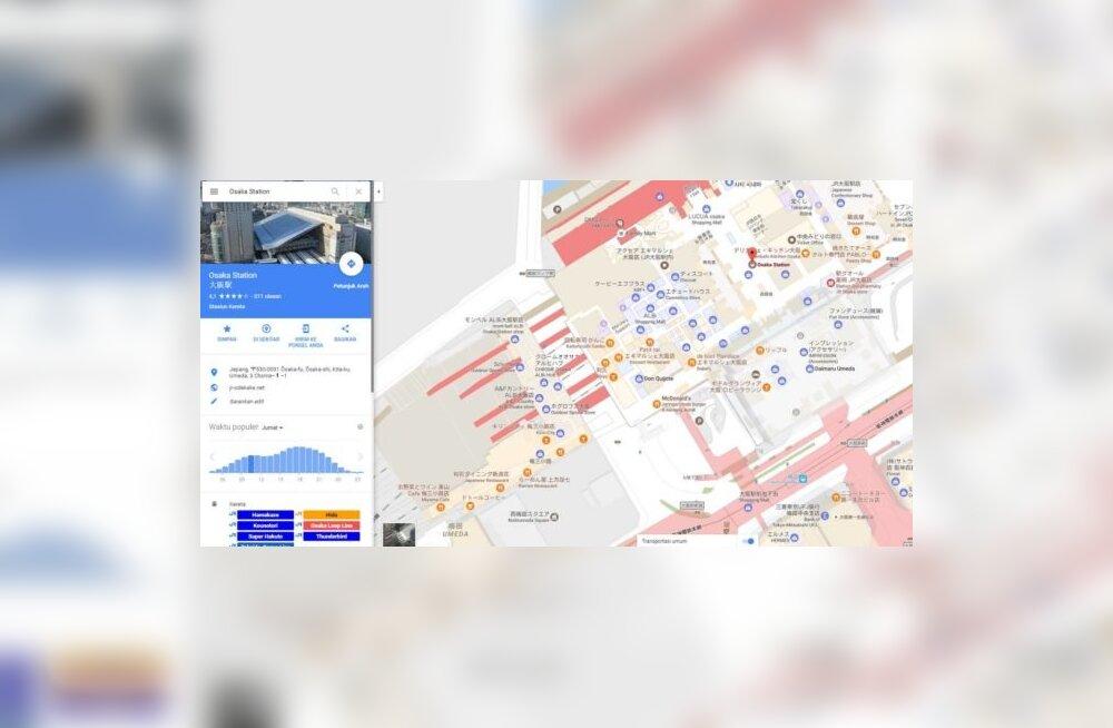 Google muudab kaardirakenduse Maps taas kasulikumaks, eriti reisil viibijatele
