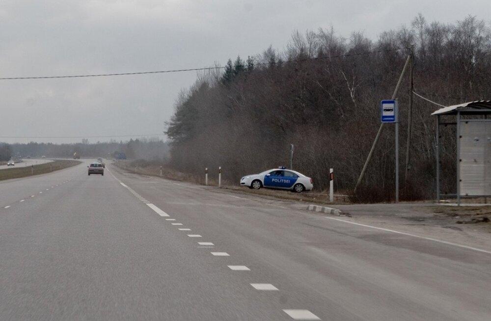 Harju maakonnas on kahes kohas liikluspiirangud