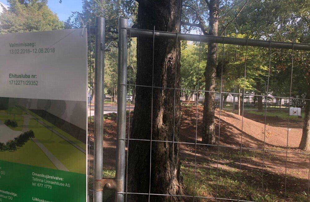 LUGEJA FOTO   Uue Maailma spordipark pole ka kolm nädalat pärast tähtaega ikka veel valmis