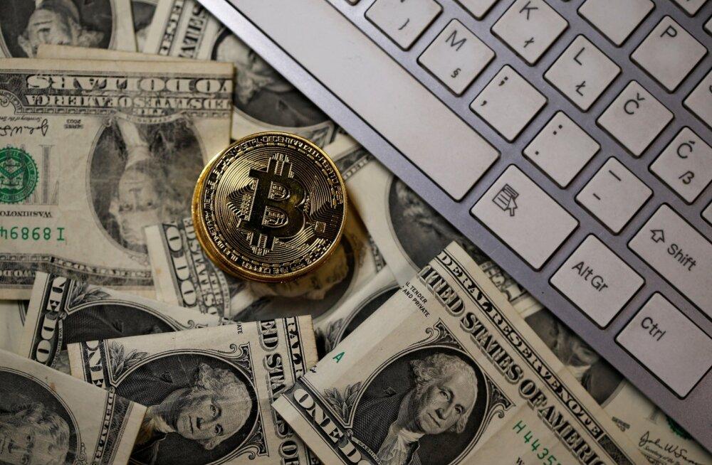 Bitcoini hinnarekord haihtus