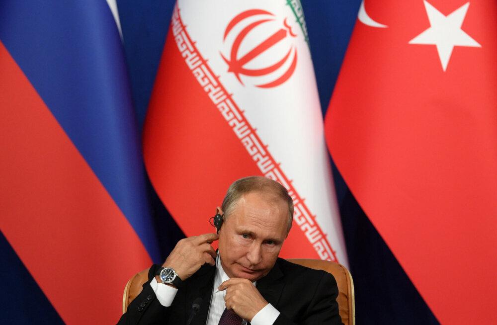 Vaherahu Süürias lõi Venemaa ja Türgi eri leeridesse