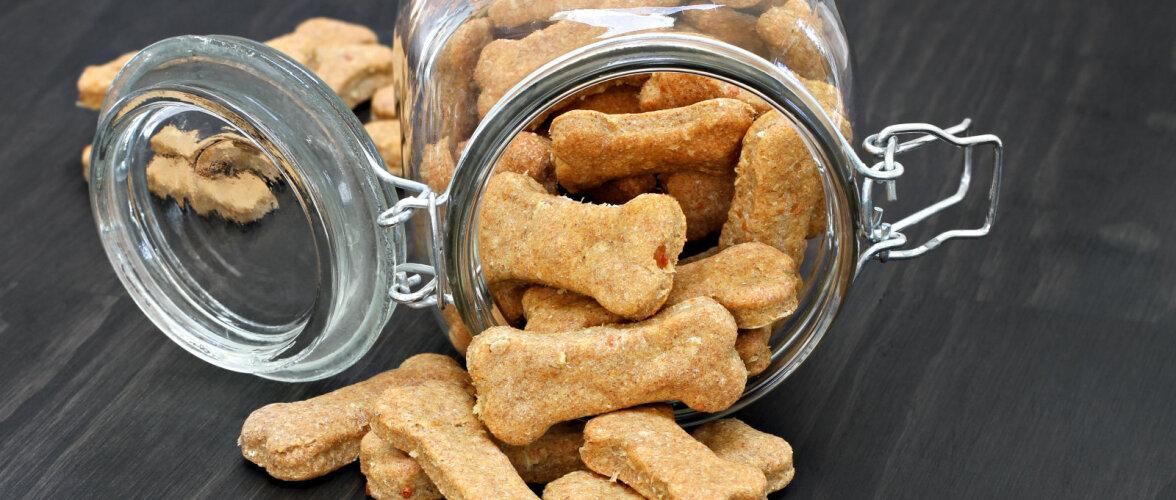 RETSEPT | Kuidas teha ise koerale tervislik maiustus?
