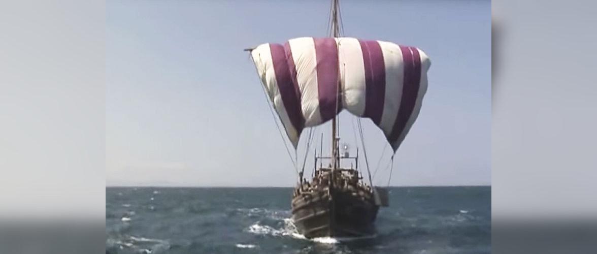 Британец планирует переплыть Атлантический океан на корабле древних финикийцев