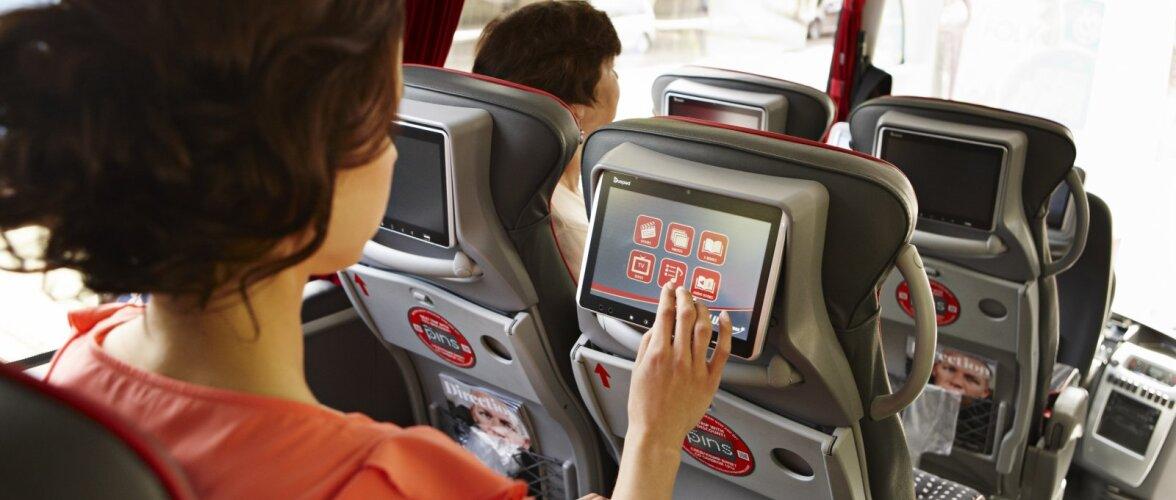 Какие фильмы смотрят пассажиры автобусов в поездках?