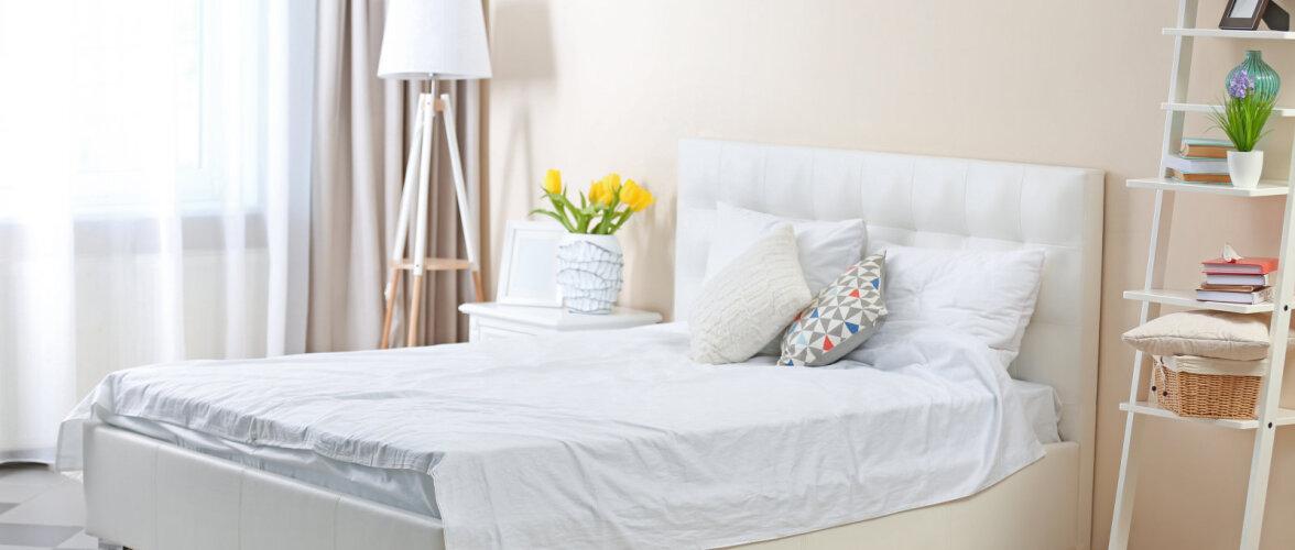 Sisustusnõuanded: kuidas muuta pisike magamistuba avaramaks