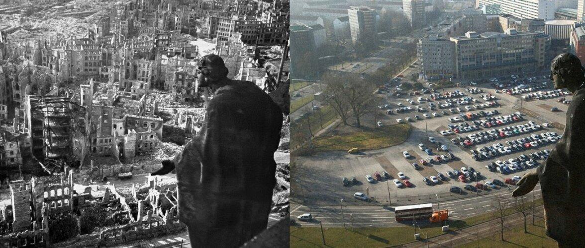 Города, разрушенные войной. Вчера и сегодня