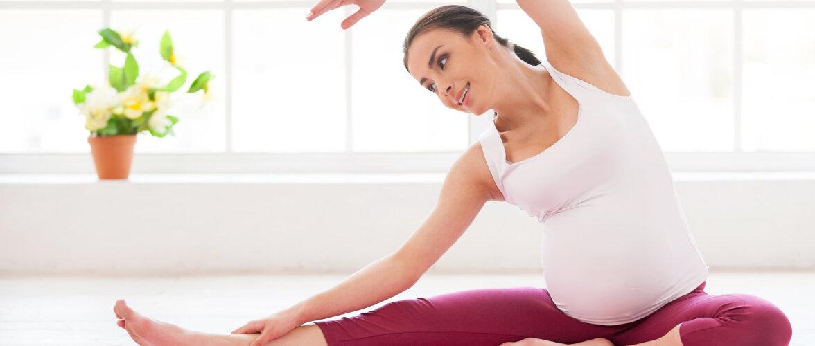 VAATA VIDEOT: Jooga rasedatele - sügavam kontakt oma keha ja kõhubeebiga