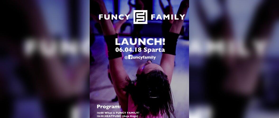 Uue ajastu treeninggsüsteemi FUNCY FAMILY esmaesitlus Eestis!