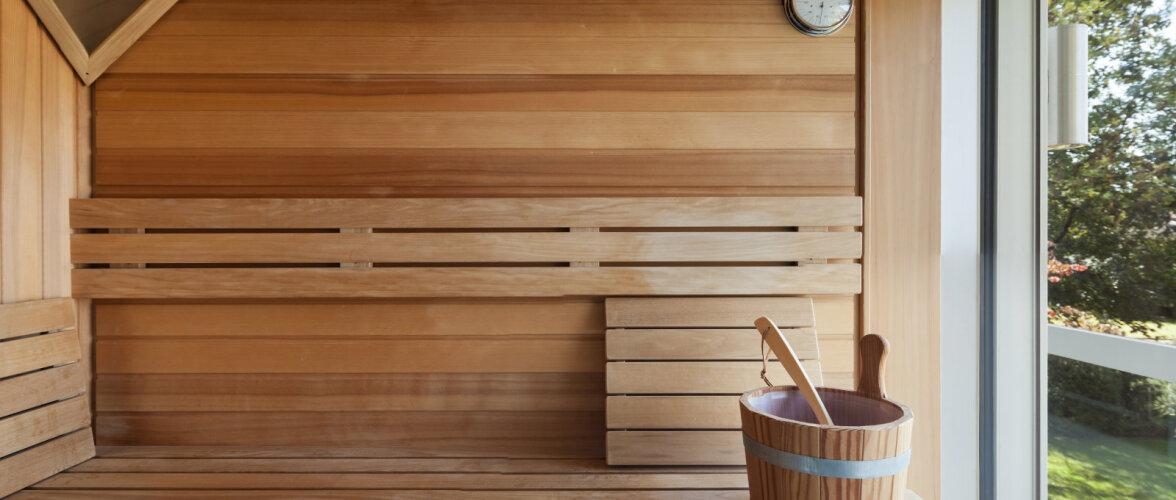 Nõuandeid: täiusliku sauna märksõnadeks on leili kõrge hapnikusisaldus ja korralik ventilatsioon