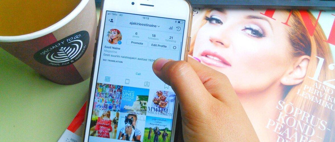 Eesti Naine on nüüd ka Instagramis!