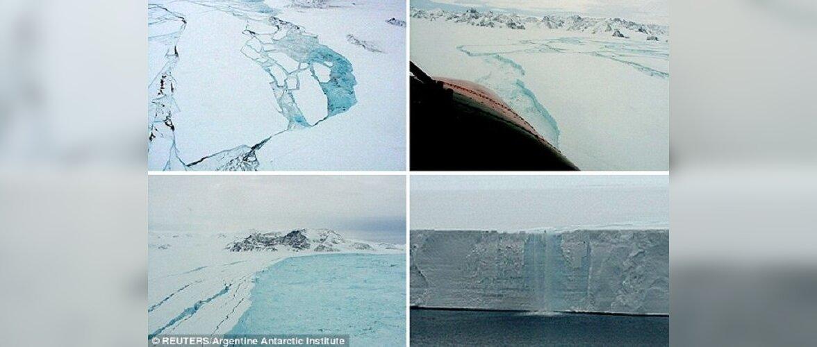 NASA предупредило о возникновении гигантского айсберга в океане