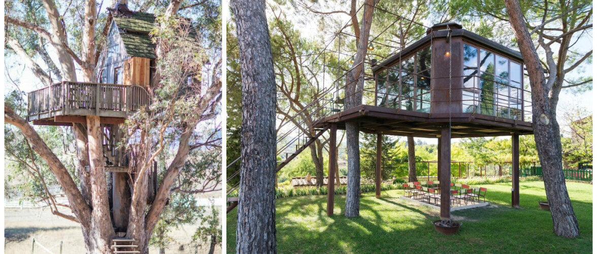 Kolm puu otsa rajatud omapärast kodu