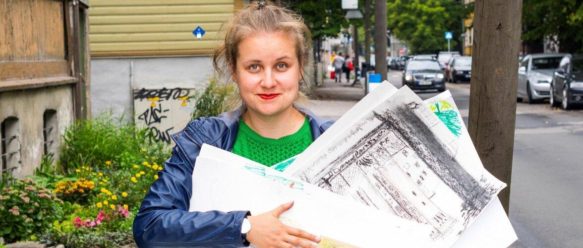 """""""Pange paberid peale ja läheme välja!"""" ehk Narvas elu esimesel kunstikursusel"""