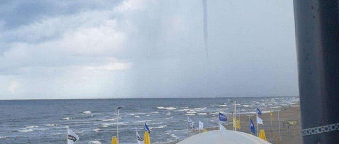 Над Балтийским морем зафиксировали смерч