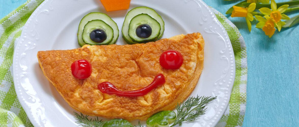 NIPID  Sinu laps võib täiesti vabalt ka selliseid toite süüa, mida ta esmapilgul suu sissegi ei võtaks!