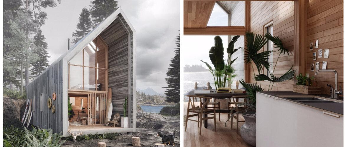 FOTOD | Laheda disainiga moodulmaja, mis on inspireeritud IKEA mööblist